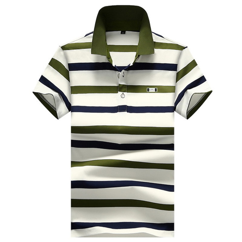2020 French stripe Eden Park for <font><b>men</b></font> <font><b>polo</b></font> <font><b>shirt</b></font> is first-class in workmanship 95% cotton can be worn all year round <font><b>big</b></font> <font><b>size</b></font> 4XL image