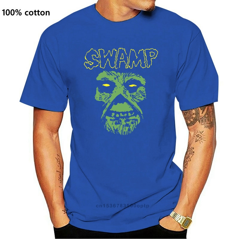 Misfit parodia Swamp Thing John costantine Best Friend T-Shirt nera T-Shirt Trendy Streetwear