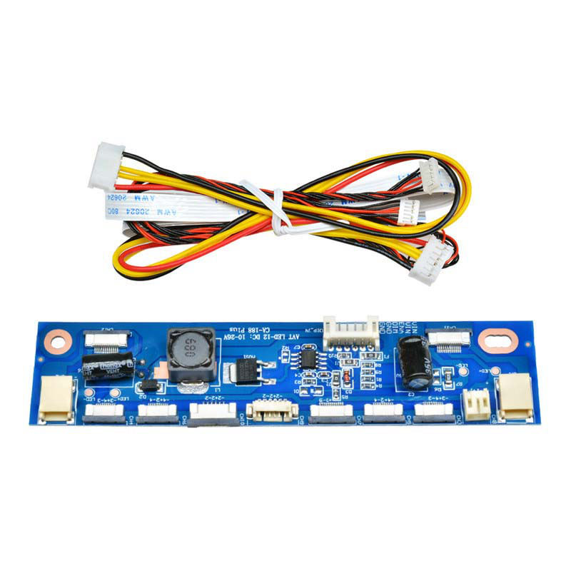 Universal Multifunction Inverter For Backlight Led Constant Current Board Driver Board 12 Connecters Led Strip Tester