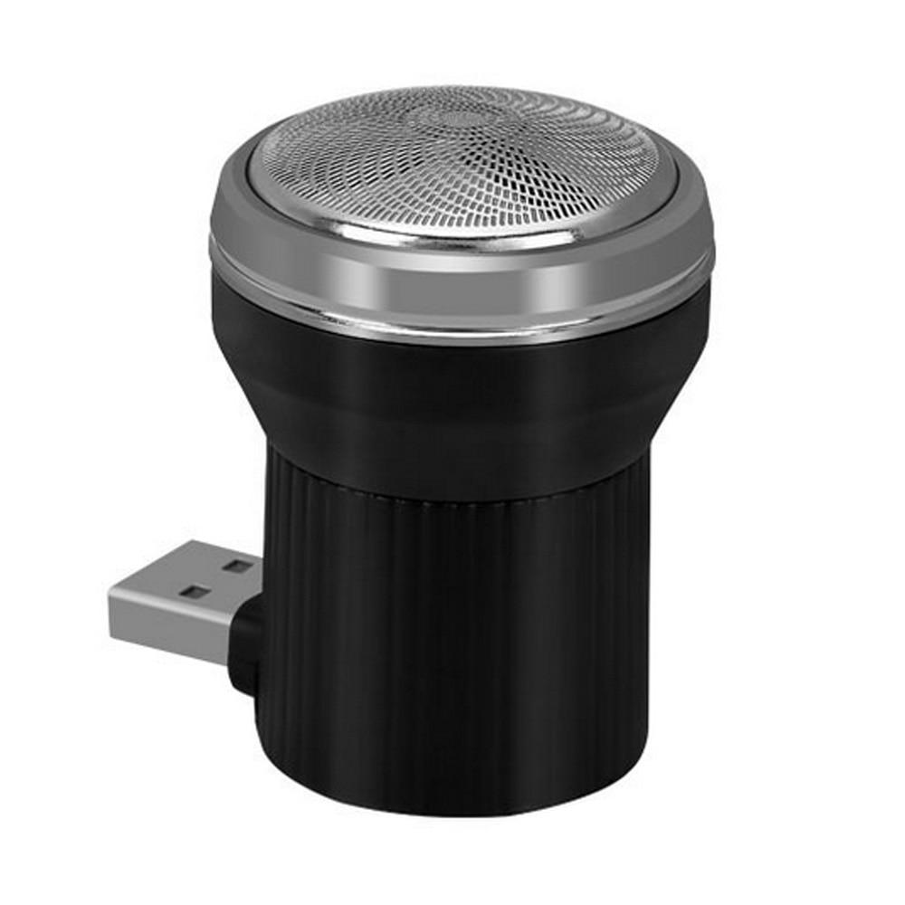 Профессиональный электробритвы триммер с чистящей щеткой USB power Three Blade для мужчин Мода минибритва подарки