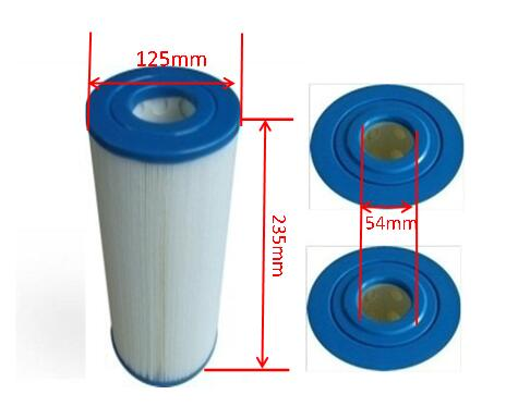 23.5cm X 12.5cm Hot Tub Filter C4335 Spa Filters PRB351N3 Spas Coleman Hydropool Canadian Vita