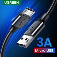 UGREEN Micro Cavo USB 3A Veloce di Ricarica Cavo del Caricatore del USB Del Telefono Mobile Cavo di Ricarica per Xiamo Huawei HTC Android USB filo