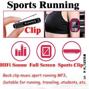 Image 3 - RUIZU M5 מלא מגע מסך נייד MP3 נגן 8 GB/16 GB ספורט Bluetooth MP3 נגן תמיכת FM, הקלטה, ספר אלקטרוני, שעון, מד צעדים