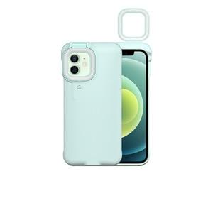 Image 2 - Capa de celular com flash e luz de led, para iphone 7, 8, x, xs max, xr, 12, 12 pro max, 12