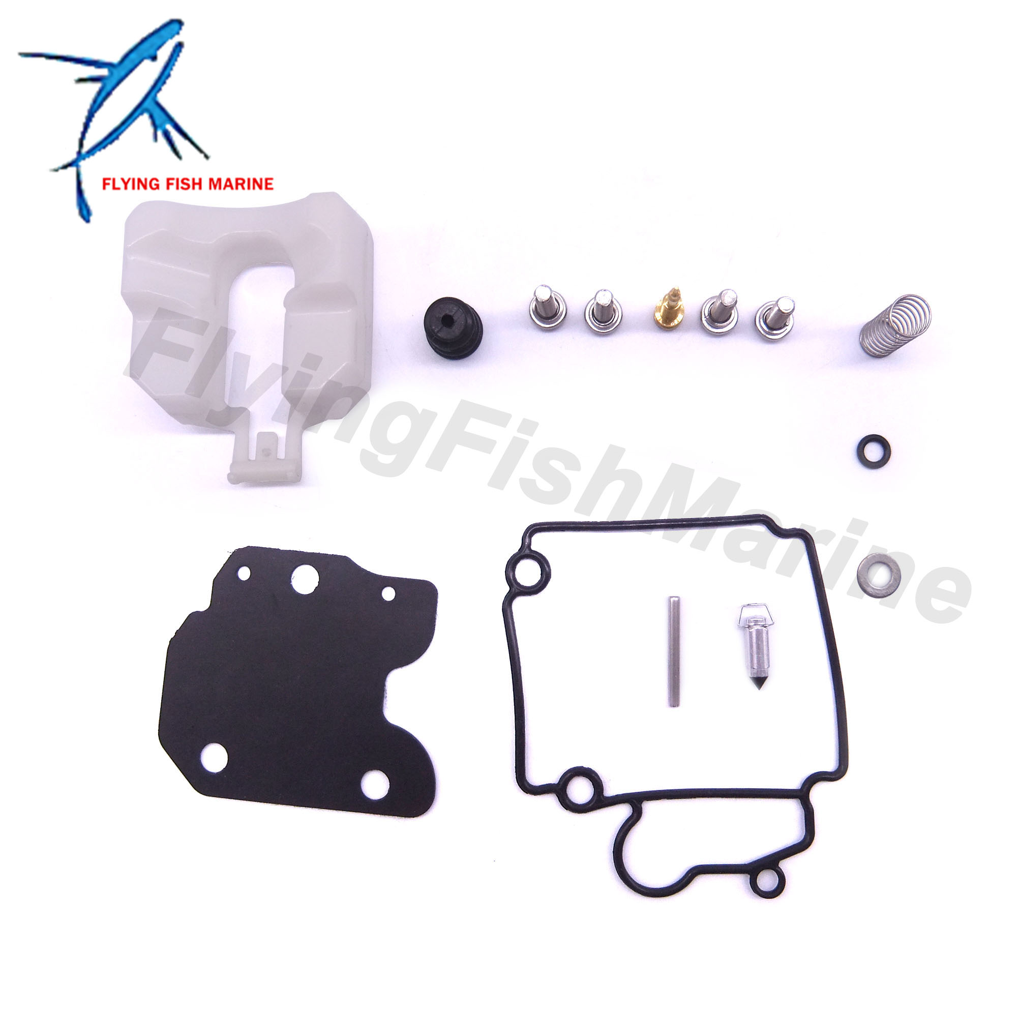 Outboard Engine Carburetor Repair Kit 65W-W0093-01 02 67C-W0093-00 01 For Yamaha F25 F30 F40 Boat Motor