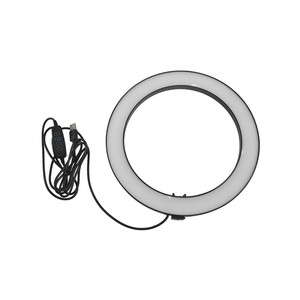 Image 5 - Phone Tripod Holder Clip With Led Ring Light Camera Photography Annular Lamp Studio Ringlight For Youtube Makeup Phone Self