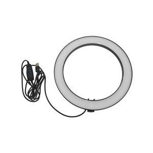Image 5 - Support de trépied de téléphone avec Led lumière annulaire caméra photographie lampe annulaire Studio Ringlight pour Youtube maquillage téléphone auto