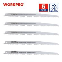 Saw-Blades Reciprocating Wood WORKPRO Fast-Cutting Pruning Clean for 5-Tpi 5-Tpi