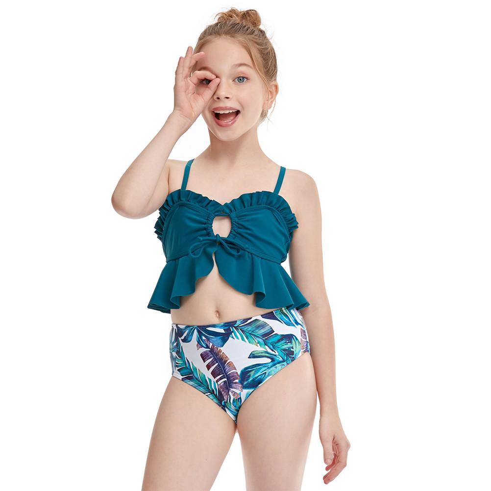 Girl Vacation Clothes Beach Bikini Girls Swimwear Girls Swimsuit Children Swimwear Kids Beach wear Girls Bathing suit