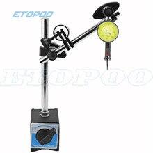 Indicador magnético da indicação de 10mm, suporte da base do suporte de indicação 0.8mm, comparador de teste do discagem para o localizador do centro de calibração do equipamento, medição