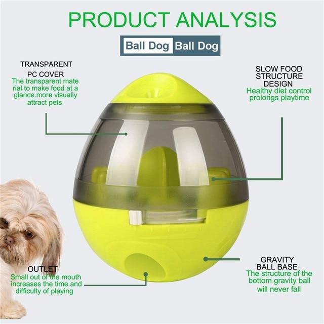 Interactive Cat Toy IQ Treat Ball Smarter   4