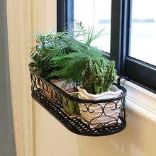 Подвесная стойка органайзер для цветочных горшков корзина хранения