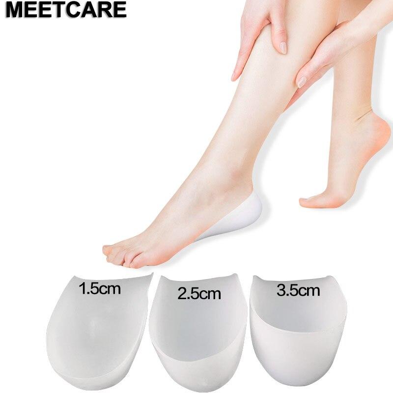 Унисекс, 1,5 см, 2,5 см, 3,5 см, увеличивающая рост, силиконовая гелевая подкладка в носке, защищающая пятку, подтягивающая стельки для ухода за ногами, невидимая обувь, снимающая подушечку|Брекеты и подставки|   | АлиЭкспресс