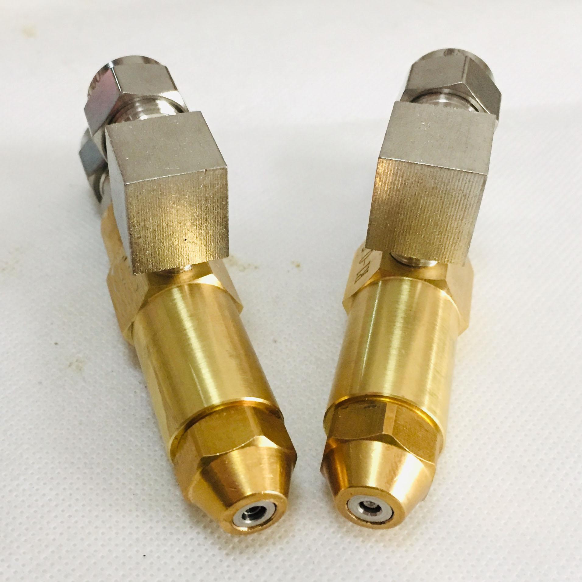 Image 2 - 68mm 0.5/0.8/1.0/1.2/1.5/2.0/2.5/3.0mm Waste oil burner  nozzle,air atomizing nozzle,fuel oil nozzle,full cone oil spray  nozzleSprayers