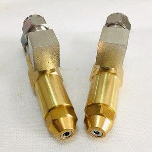 Image 2 - 68mm 0,5/0,8/1,0/1,2/1,5/2,0/2,5/3,0mm altöl brenner düse, luft zerstäubung düse, heizöl düse, volle kegel öl spray düse