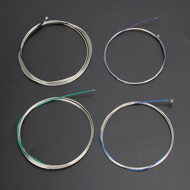 1set Cello String Set German Silver C-G-D-A For Full Size 4/4 -3/4 Musik Guitar Musical Accessories