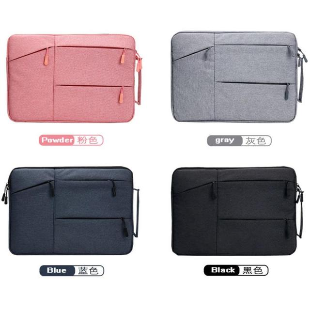 Laptop Bag Pro Air Case 12 13.3 14 15.6 inch Notebook Cover Waterproof Tablet Sleeve Portable Case For Macbook Laptop PC Mac HP