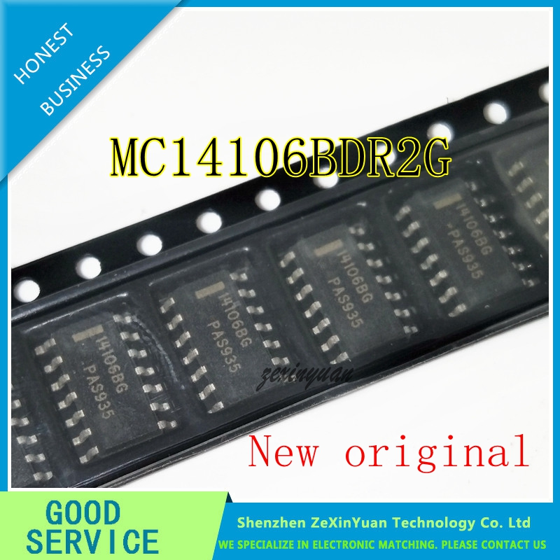 10PCS/LOT MC14106BDR2G MC14106BDR MC14106B MC14106 14106BG SOP14
