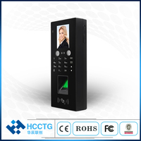Face & Fingerprint & Rfid Attendance Access Control Face Recognition Based Door Lock System MR 30
