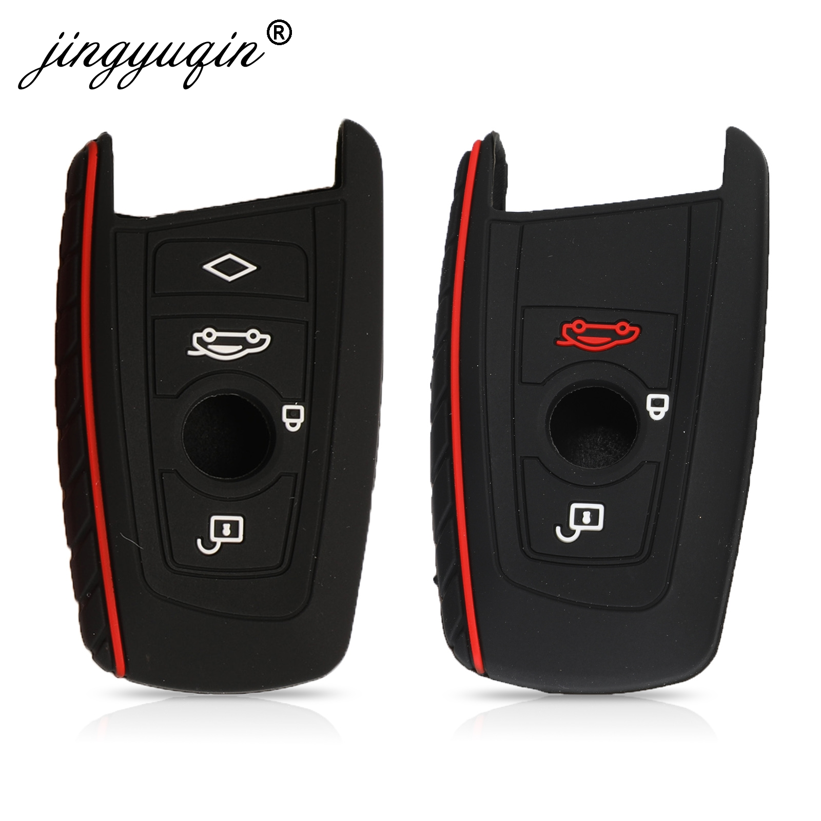 Silicone Key Fob Cover Case Protect Skin Hood For BMW F10 F20 F30 Z4 X1 X3 X4 M1 M2 M3 E90 1 2 3 5 7 SERIES 3/4 B Remote Keyless