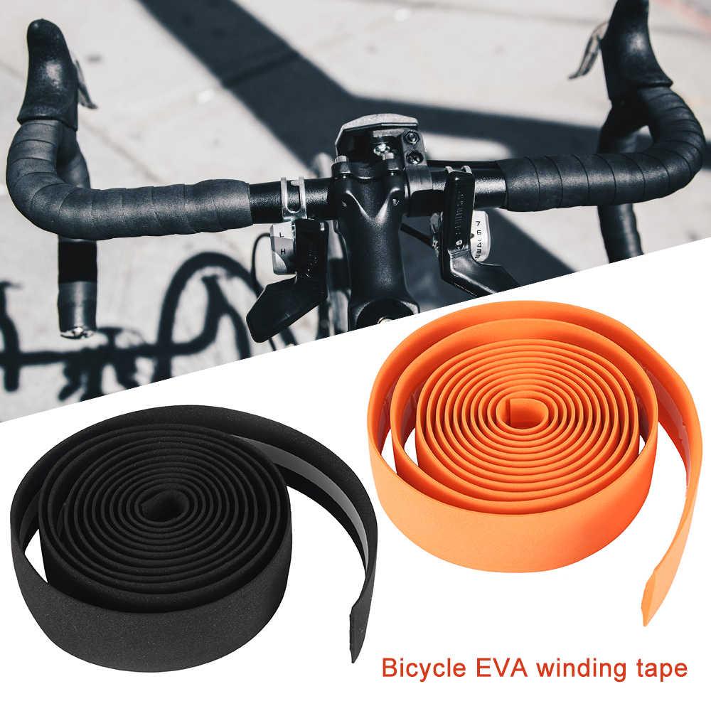 Cycling Road Bicycle Handlebar Elastic Sports Handle Bar Grip Wrap Plug Tape S