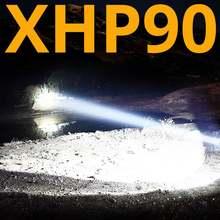 Самый мощный светодиодный фонарик xhp902 300000 лм xhp50 с usb