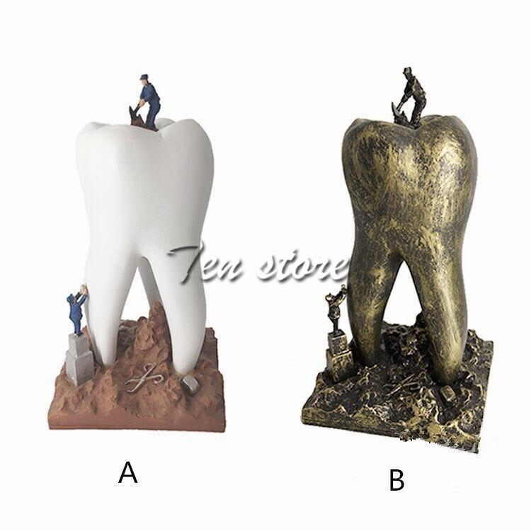 Artware Gift Resin Craft Toys Dental dentist Teeth Dental Clinic Craft Sculpture Decoration Furnishing Articles Creative