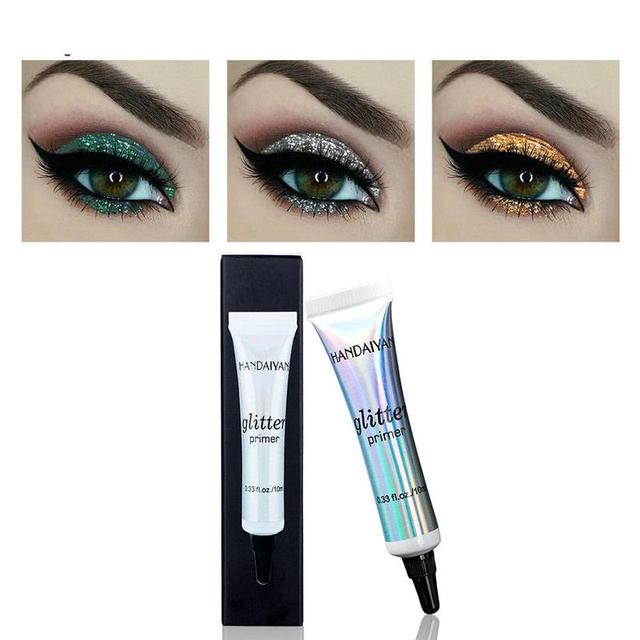 10ml Glitter Eyeshadow Makeup Primer Liquid Professional Make Up Eye Base Cream Lips Sequins Multifunctional Primer 4