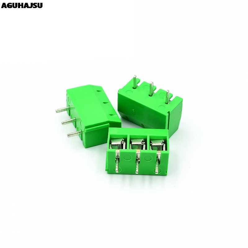 20 Pcs KF301-2P/KF301-3P KF301-5.0-2P KF301-5.0-3P KF301 5.08 Mm Plug-In Screw Connector