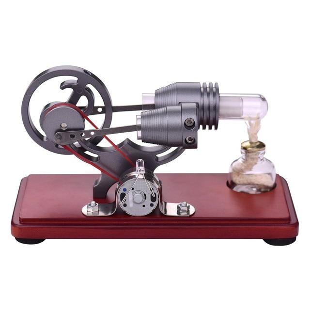 Air chaud Stirling moteur moteur modèle éducatif jouet générateur délectricité générateur de vapeur modèle passe-temps cadeau danniversaire jouets Childre