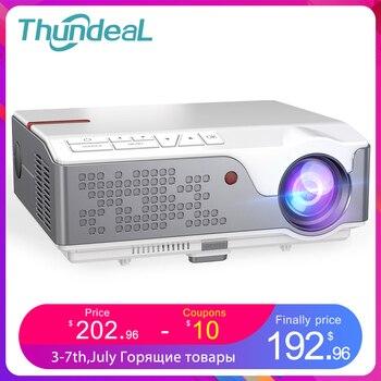 ThundeaL проектор TD96 Full HD 1080P проектор для смартфона Android WiFi LED проэктор 1920x1080P пикселей 3D телефон домашний кинотеатр