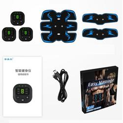 Abdominal Smart LED Display Muscle Stimulator Trainer EMS Abs Fitness Equipment Training Exercise Smart Abdominals Muscles