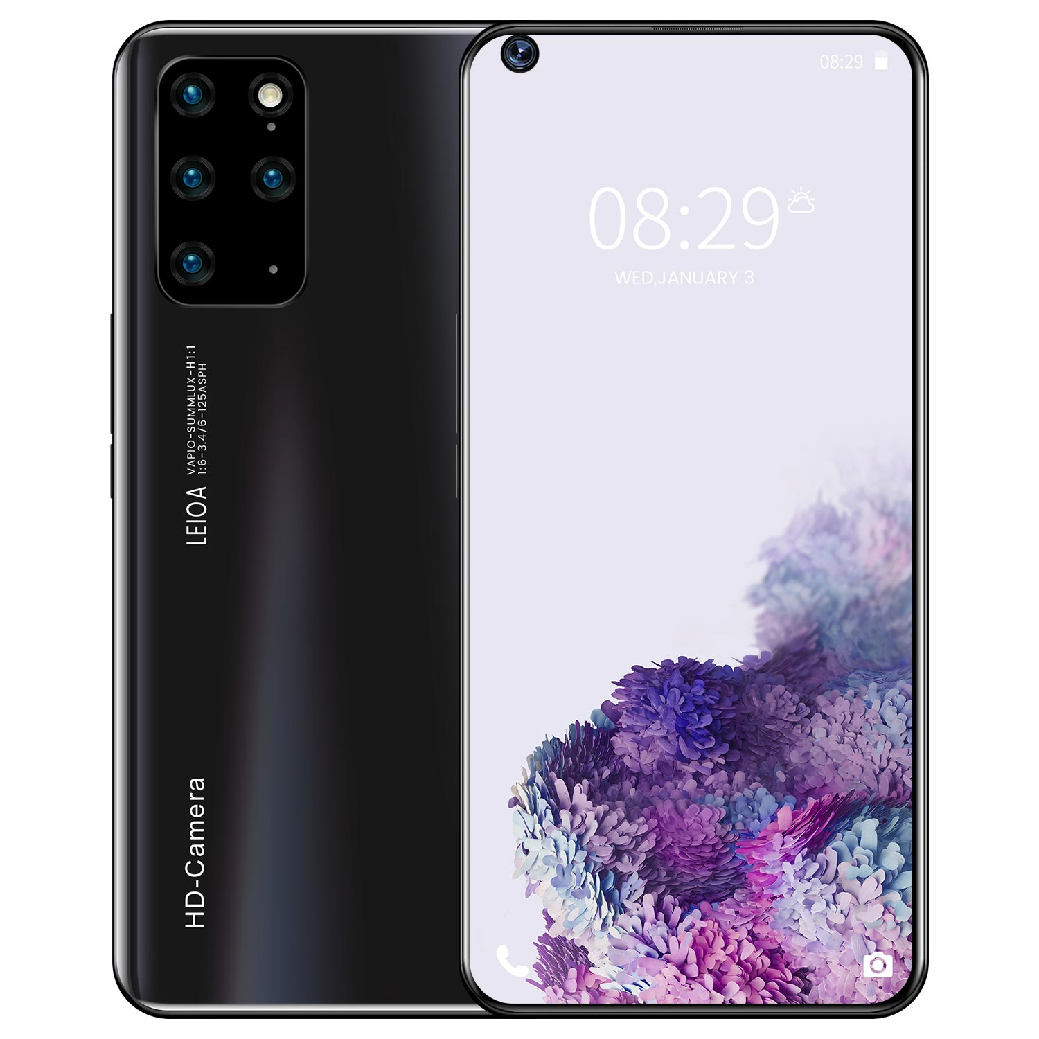 Galay S21+Ultra Smartphone 7.2 HDinch 12GB+512GB 5800mAh Global Version 4G/5G Android10.0 Mobile phone Celulares Cellphone 3