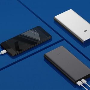 Image 4 - شاومي مي 3 برو بنك الطاقة 10000 mAh اتجاهين تهمة سريعة USB C المزدوج المدخلات الناتج PLM12ZM 10000 mAh Powerbank للهاتف المحمول