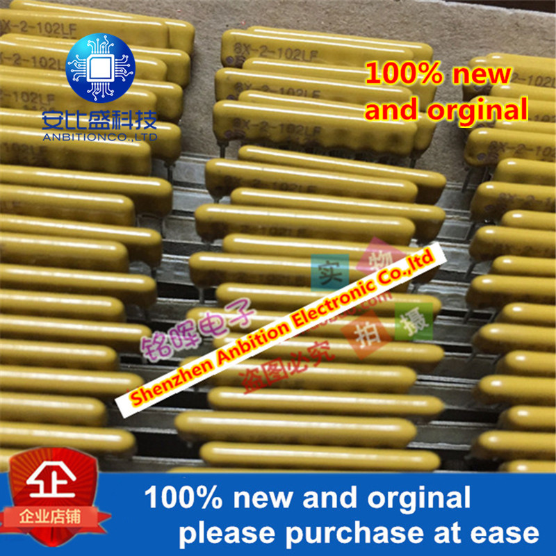 10pcs 100% New And Orginal 4608X-AP2-102LF 8Pin In Line Resistance Precision 2% 1K 8x-2-102lf In Stock