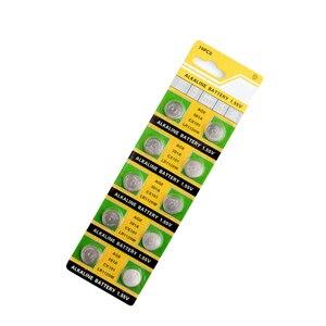 Image 5 - YCDC 20pcs 1.55v AG8 Watch Clock Battery Pilas 191 381 391 391A GP391 LR1120 LR1120W SR1120W Button Coins Celula Long Lasting