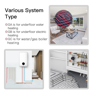Image 5 - WiFi Thermostat Programmable Temperature Controller Underfloor Water/Gas Boiler Weather Station Tuya Smart Alexa Voice Control