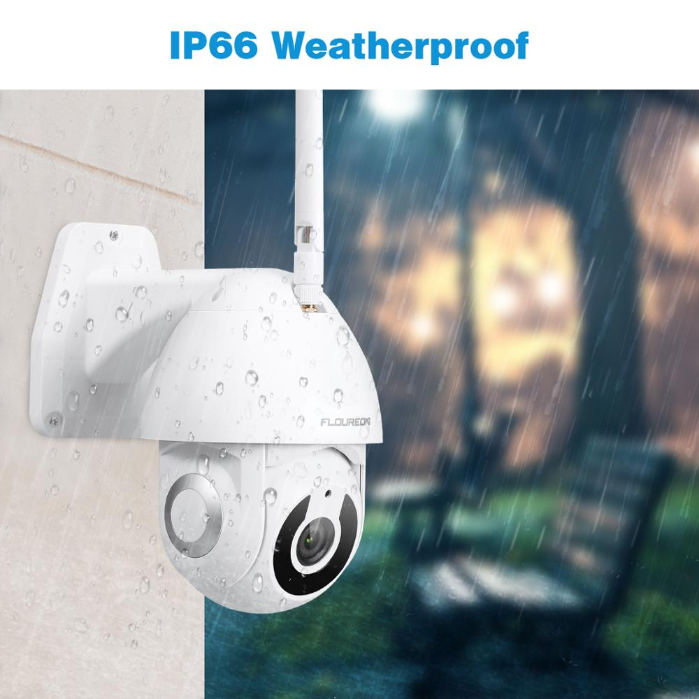 Image 4 - Floureon 2019 New 1080P HD IP Camera Wireless WiFi Outdoor Camera Smart Motion Tracking App Alarm Camera Compatible With Alexa-in Surveillance Cameras from Security & Protection