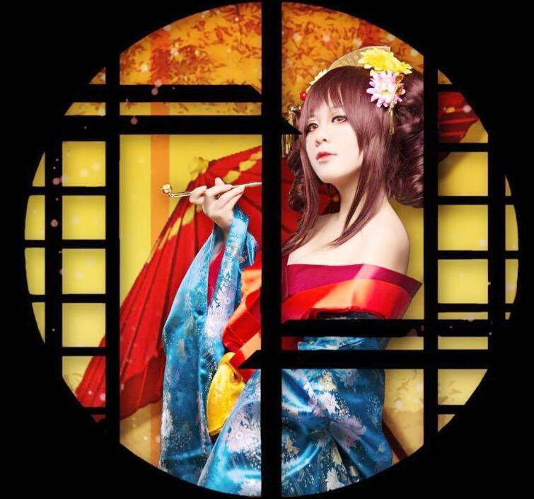 Original Kimono Plum Flower Woman Stage Performance Coat Spring Summer Kimono+Waistband