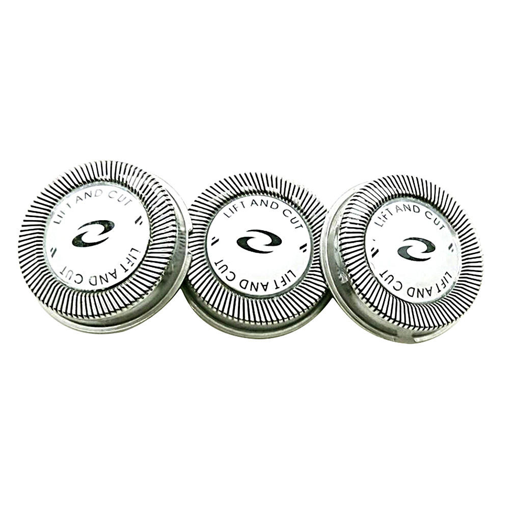 3 Pieces Electric Razor Shaver Head Electrical Replacement For Philips Blade
