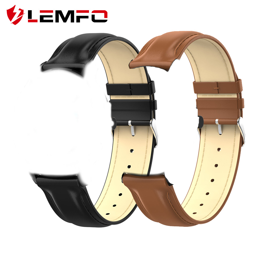 LEMFO Smart-Accessories Replacement Leather Strap Anti-Loss Steel for L9-strap/Anti-loss/Replacement/Steel title=