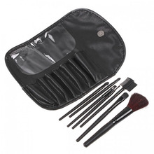 цена на Beauty makeup set wholesale 7 sets of makeup brushes portable no logo makeup tools
