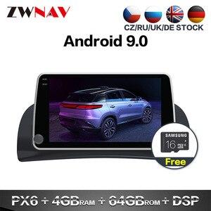 Автомобильный мультимедийный плеер PX6 4 + 64, Android 9,0, GPS, ГЛОНАСС, навигация для Renault Kangoo 2015-2019, головное устройство радио