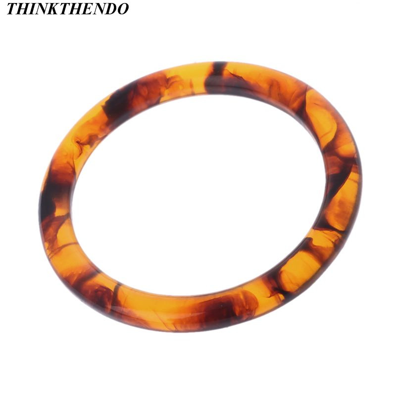 THINKTHENDO New Fashion Purse Handbag Bag Handle Replacement Resin DIY Crafts Bags Accessories