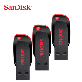 Origina SanDisk CZ50 memory stick pendrive 64GB 128GB usb flash drive 32GB 16GB pen drive usb key thumb drive free shipping 1
