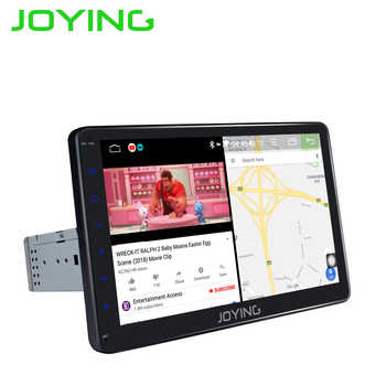 JOYING 10.1 inch IPS Screen car radio strereo Android 8.1 universal radio cassette player Support Mirror link/DSP/SWC/DVR/OBD BT - DISCOUNT ITEM  25 OFF Automobiles & Motorcycles