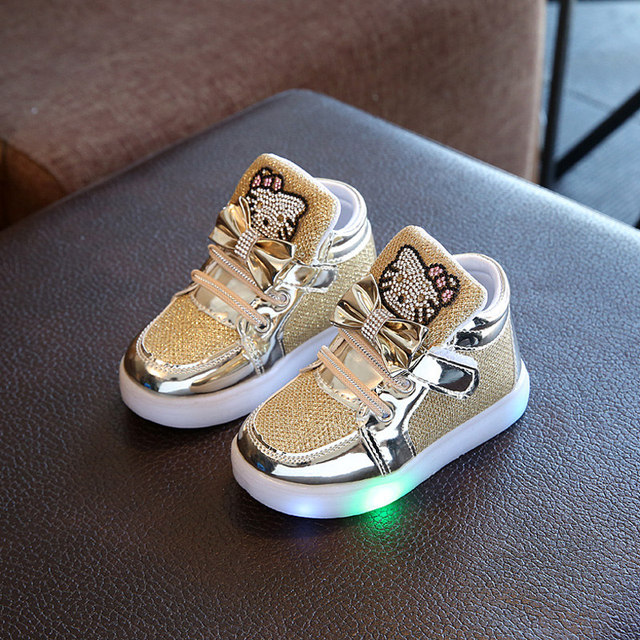 Toddler Glow in the Dark Sneakers 4
