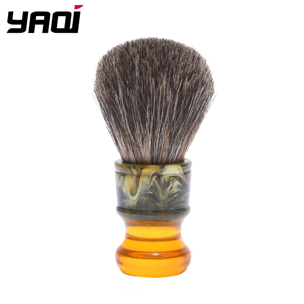 Yaqi 22MM Sagrada Familia 100% Pure Badger Hair Resin Handle Men Wet Shave Brushes