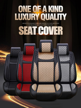 Car seat cover includes five seats, four seasons, comfortable and breathable