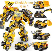 872pcs ninja Garmadon Big Shark Building Blocks Machine ArmorBuilding Bricks Sets Classic Movie Model Kids Toys For Gift 70656(China)